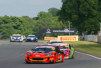 Graham Johnson (GBR) / Mike Robinson (GBR)  #50 PMW Expo Racing/Optimum Motorsport  Ginetta G55 GT3  Ford Cyclone 3.7L V6  British GT Championship at Oulton Park, Little Budworth, Cheshire, United Kingdom. May 30 2016. World Copyright Peter Taylor/PSP.