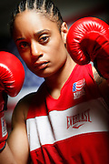 6/24/11 2:48:07 PM -- Colorado Springs, CO. -- A portrait of U.S. Olympic lightweight boxer Queen Underwood, 27, of Seattle, Wash. who will be competing for her fifth title. She began boxing in 2003 and was the 2009 Continental Champion and the 2010 USA Boxing National Champion. She is considered a likely favorite to medal at the 2012 Summer Olympics in London as women's boxing makes its debut as an Olympic sport. -- ...Photo by Marc Piscotty, Freelance.