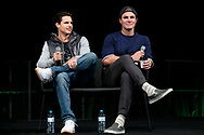 Robbie and Stephen Amell at Supanova Comic Con and Gaming exhibition at Sydney Showground.