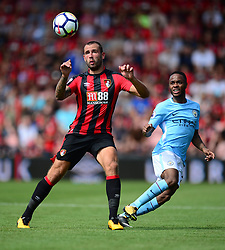 Steve Cook of Bournemouth - Mandatory by-line: Alex James/JMP - 26/08/2017 - FOOTBALL - Vitality Stadium - Bournemouth, England - Bournemouth v Manchester City - Premier League