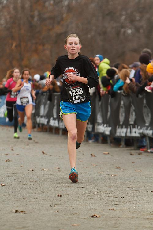 Foot Locker Cross Country Northeast Regional Championship race, Karli O'Neill, NY