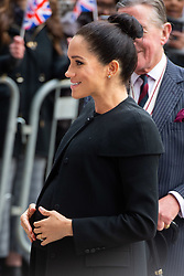 The Duchess of Sussex arriving for a visit to the Association of Commonwealth Universities at the University of London. Picture date: Thursday January 31st, 2019. Photo credit should read: Matt Crossick/ EMPICS Entertainment.