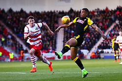 Jonson Clarke-Harris of Rotherham United controls the ball - Mandatory by-line: Ryan Crockett/JMP - 11/11/2017 - FOOTBALL - The Keepmoat Stadium - Doncaster, England - Doncaster Rovers v Rotherham United - Sky Bet League One