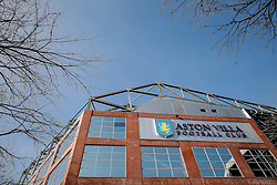 General View outside Villa Park - Mandatory byline: Rogan Thomson/JMP - 13/03/2016 - FOOTBALL - Villa Park Stadium - Birmingham, England - Aston Villa v Tottenham Hotspur - Barclays Premier League.