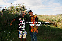 Cool Kids - Chuck left and  at Nikon at Jones Beach Amphitheater for 'Rock The Bells' 2008 on August 3, 2008. . Rock The Bells