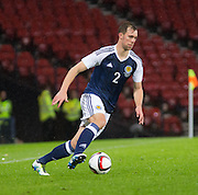 Scotland&rsquo;s Steven Whittaker  - Scotland v Denmark, International challenge match at Hampden Park<br /> <br />  - &copy; David Young - www.davidyoungphoto.co.uk - email: davidyoungphoto@gmail.com