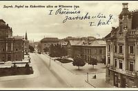 Zagreb : Pogled na Kukovićevu ulicu s Wilsonova trga. <br /> <br /> ImpresumZagreb : Naklada S. Marković, 1926.<br /> Materijalni opis1 razglednica : tisak ; 8,6 x 13,7 cm.<br /> NakladnikNaklada S. Marković<br /> Mjesto izdavanjaZagreb<br /> Vrstavizualna građa • razglednice<br /> ZbirkaZbirka razglednica • Grafička zbirka NSK<br /> Formatimage/jpeg<br /> PredmetZagreb –– Andrije Hebranga<br /> SignaturaRZG-HEB-2<br /> Obuhvat(vremenski)20. stoljeće<br /> NapomenaRazglednica je putovala 1927. godine.<br /> PravaJavno dobro<br /> Identifikatori000954961<br /> NBN.HRNBN: urn:nbn:hr:238:337221 <br /> <br /> Izvor: Digitalne zbirke Nacionalne i sveučilišne knjižnice u Zagrebu