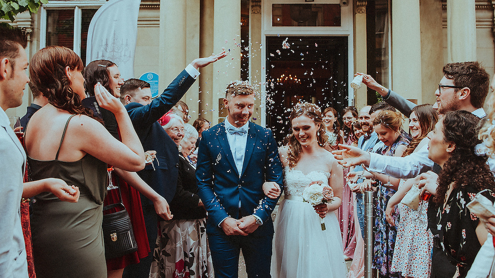 Amy & Alexis' Wedding, Ceremony & Reception at The Leeds Club. 29th May 2016