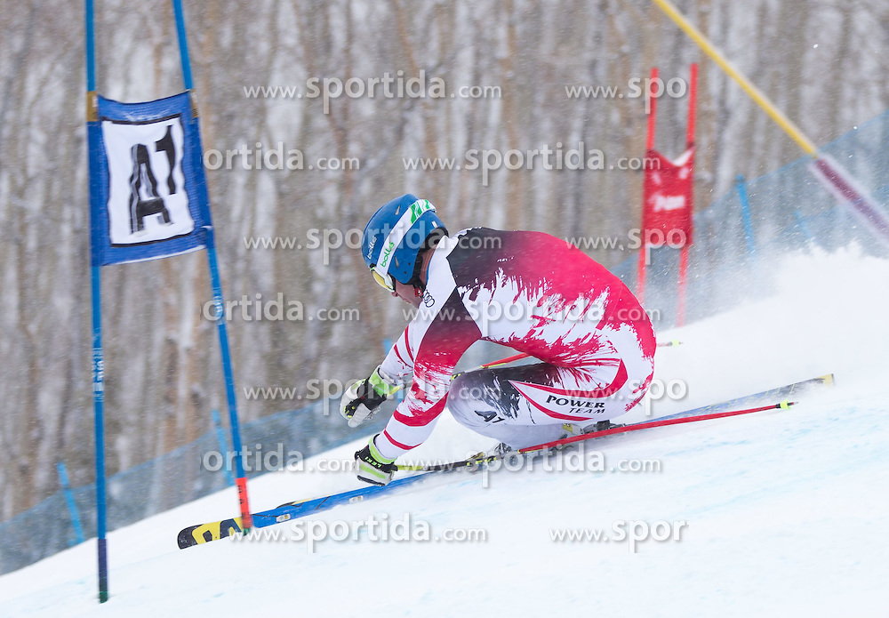 30.01.2015, Golden Peak Strecke, Vail, USA, FIS Weltmeisterschaften Ski Alpin, Training, im Bild Romed Baumann (AUT) // Romed Baumann in Action during a practice run for the FIS Ski World Championships 2015 at the Golden Peak Course, Vail, United States on 2015/01/30. EXPA Pictures © 2015, PhotoCredit: EXPA/ Johann Groder