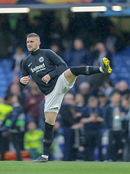09.05.2019, Stamford Bridge, London, ENG, UEFA EL, FC Chelsea vs Eintracht Frankfurt, Halbfinale, Rückspiel, im Bild Ante Rebić of Eintracht Frankfurt warming up // Ante Rebić of Eintracht Frankfurt warming up during the UEFA Europa League semifinal 2nd leg match between FC Chelsea and Eintracht Frankfurt at the Stamford Bridge in London, Great Britain on 2019/05/09. EXPA Pictures © 2019, PhotoCredit: EXPA/ Focus Images/ Steve O'Sullivan<br /> <br /> *****ATTENTION - for AUT, GER, FRA, ITA, SUI, POL, CRO, SLO only*****