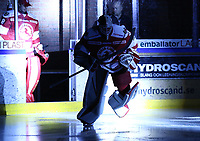 2018-11-14 | Ljungby, Sweden: Troja-Ljungby (36) Wictor Ragnewall during the game between Troja Ljungby and Mörrums GoIS at Ljungby Arena ( Photo by: Fredrik Sten | Swe Press Photo )<br /> <br /> Keywords: Icehockey, Ljungby, HockeyEttan, Troja Ljungby, Mörrums GoIS, Ljungby Arena div1, division, troja, ljungby, mörrum, gois,