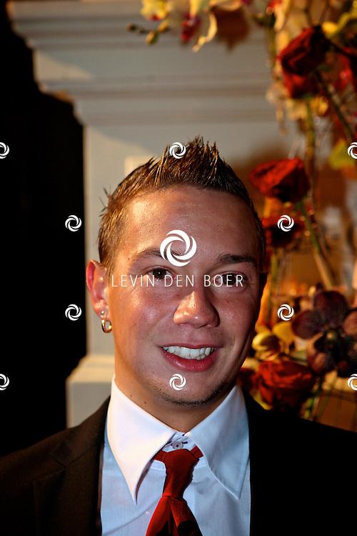 AMSTERDAM - In het Amstel Hotel zijn de Beau Monde Awards 2011 weer uitgereikt.  Met op de foto Robert Minderhoud alias Jokertje - FOTO LEVIN DEN BOER - PERSFOTO.NU