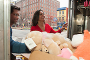 Guinto's Helping Hands annual toy delivery at Kennedy Kreiger Institute.