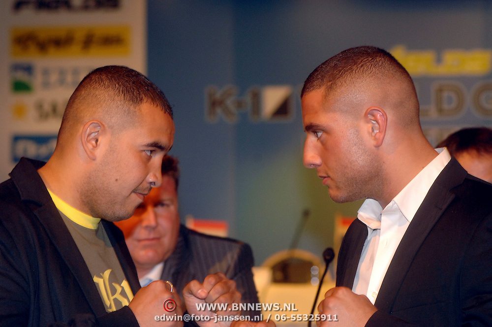 "NLD/Huizen/20060511 - Persconferentie K1 freefight gala "" it's Showtime "","