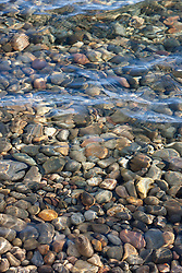"""Pebbles in Lake Tahoe 2"" - These pebbles under the water were photographed near Kaspian Point in Lake Tahoe, CA."