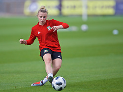 NEWPORT, WALES - Monday, September 2, 2019: Wales' Kylie Nolan during a training session at Rodney Parade ahead of the UEFA Women Euro 2021 Qualifying Group C match against Northern Ireland. (Pic by David Rawcliffe/Propaganda)