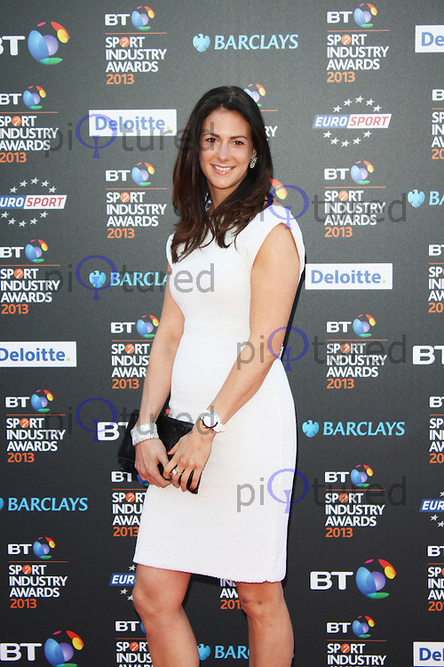 LONDON - May 02: Hannah White at the BT Sport Industry Awards 2013 (Photo by Brett D. Cove)