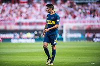 BUENOS AIRES, ARGENTINA - 2017 NOVEMBER 05. Boca Juniors (2) Paolo Goltz during the superliga Argentina match between River Plate and Boca Juniors at Estadio El Monumental,  <br /> ( Photo by Sebastian Frej )