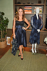 NATALIE PINKHAM at a private view of the Beulah Winter Autumn Winter collection entitled 'Chrysalis' held at The South Kensington Club, London SW7 on 24th September 2015.