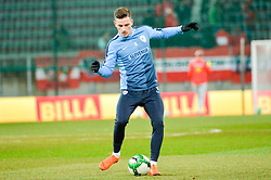 Krhin Rene of Slovenia prior friendly football match between National teams of Austria and Slovenia on March 25, 2018 in Woerthersee Stadion, Klagenfurt, Austria. Photo by Mario Horvat / Sportida