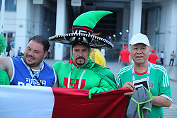 June 21, 2017 - Sochi, Russia - Of The Russian Federation. Sochi. Football. The FIFA Confederations Cup 2017. Mexico  New Zealand. The Stadium Fischt. (Credit Image: © Russian Look via ZUMA Wire)