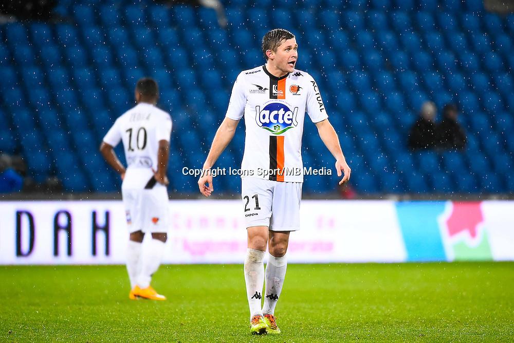 Malik COUTURIER  - 12.12.2014 - Le Havre / Laval - 17eme journee de Ligue 2 <br /> Photo : Fred Porcu / Icon Sport