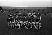 28/04/1968<br /> 04/28/1968<br /> 28 April 1968<br /> National Hurling League Semi-Final: Kerry v Wicklow at Croke Park, Dublin.<br /> The Wicklow team.