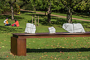 Mikayel Ohanjanyan, Senza Titolo, 2016, <br /> Tornabuoni Art - The Frieze Sculpture Park 2016 comprises 19 large-scale works, set in the English Gardens between Frieze Masters and Frieze London. Selected by Clare Lilley (Yorkshire Sculpture Park), the Frieze Sculpture Park will feature 19 major artists including Conrad Shawcross, Claus Oldenburg, Nairy Baghramian, Ed Herring, Goshka Macuga and Lynn Chadwick. The installations will remain on view until 8 January 2017.