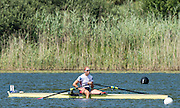 Lucerne, SWITZERLAND. Women's single sculls Bronze medalist USA W1X.  Gevvie STONE, 2015 FISA World Cup III, Lake Rotsee,  11:40:35  Sunday  12/07/2015   [Mandatory Credit. Peter SPURRIER/Intersport Images .   Empacher.