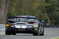 Tolman Motorsport #56 McLaren 570S GT4 David Pattison/Joe Osborne GT4 Pro/AM during Friday testing for the British GT Championship as part of the BRDC British F3/GT Championship Meeting at Oulton Park, Little Budworth, Cheshire, United Kingdom. April 14 2017. World Copyright Peter Taylor/PSP. Copy of publication required for printed pictures.  Every used picture is fee-liable. http://archive.petertaylor-photographic.co.uk