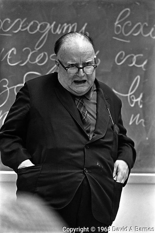 University professor, Dr. Walter Starkey, UCLA, Los Angeles, California, USA