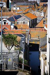UK CORNWALL ST IVES 10JUN08 - Rooftops in St Ives in Cornwall, western England...jre/Photo by Jiri Rezac / WWF UK..© Jiri Rezac 2008..Contact: +44 (0) 7050 110 417.Mobile:  +44 (0) 7801 337 683.Office:  +44 (0) 20 8968 9635..Email:   jiri@jirirezac.com.Web:    www.jirirezac.com..© All images Jiri Rezac 2008 - All rights reserved.