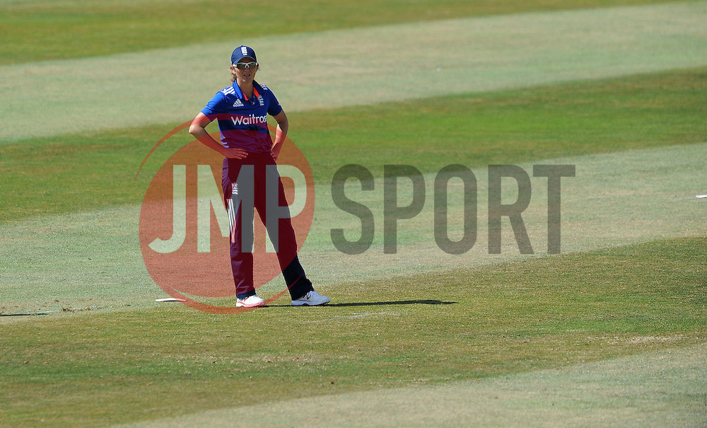 England's Charlotte Edwards- Photo mandatory by-line: Harry Trump/JMP - Mobile: 07966 386802 - 21/07/15 - SPORT - CRICKET - Women's Ashes - Royal London ODI - England Women v Australia Women - The County Ground, Taunton, England.