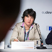 20160615 - Brussels , Belgium - 2016 June 15th - European Development Days - The people's peace - Eileen Frerking - Expert, Competence Centre for Democracy, Political Dialogue and City<br /> Deutsche Gesellschaft für Internationale Zusammenarbeit © European Union