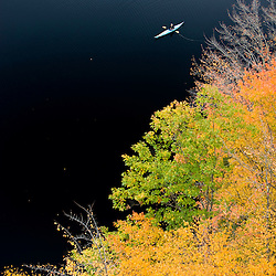 Stonehouse Pond in Barrington, New Hampshire.
