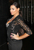 Jessica Wright, Lipsy Glam - Fragrance Launch, The Cumberland Hotel, London UK, 29 August 2013, (Photo by Brett D. Cove)