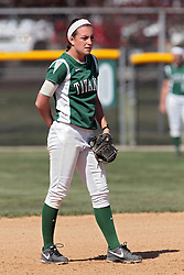 09 May 2014:  Amanda Fazzari during an NCAA Division III women's softball championship series game between the Lake Forest Foresters and the Illinois Wesleyan Titans in Bloomington IL
