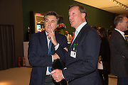 BRYAN FERRY; FILIPPO GUERRINI-MARALDI, Lunch at the Ivy Club pop up-restaurant during the preview of Masterpiece Art Fair. Co-hosted by  Count & Countess Filippo Guerrini-Maraldi, and Lord<br /> Dick Daventry. 26 June 2013
