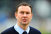 Plymouth Argyle manager Derek Adams before the Sky Bet League 2 match between Plymouth Argyle and Notts County at Home Park, Plymouth, England on 27 February 2016. Photo by Graham Hunt.