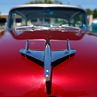 Thomas Wells | BUY at PHOTOS.DJOURNAL.COM<br /> Hood ornaments from the 1950's haven't been matched in style since.