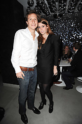 PRINCESS BEATRICE OF YORK and DAVE CLARK at the Help For Haiti Fundraiser held at Circus, Endell Street, London on 26th January 2010.