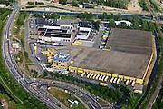 Nederland, Zuid-Holland, Alphen aan de Rijn, 23-05-2011; distributiecentrum van goedkope kledingwinkelketen Zeeman.. Cheap clothing distribution center Zeemanluchtfoto (toeslag), aerial photo (additional fee required).copyright foto/photo Siebe Swart