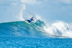 Jul 15, 2017 - Jeffreys Bay, South Africa - Jeremy Flores of France advancing directly to Round Three of the Corona Open J-Bay after winning Heat 3 of Round One at Supertubes, Jeffreys Bay, South Africa. (Credit Image: © Kelly Cestari/World Surf League via ZUMA Wire)