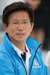Monsoo Kim, Governor of Gyeongi province where the Korea Match Cup is held. Korea Match Cup 2009, Gyeonggi-do, Korea. 2 June 2009.