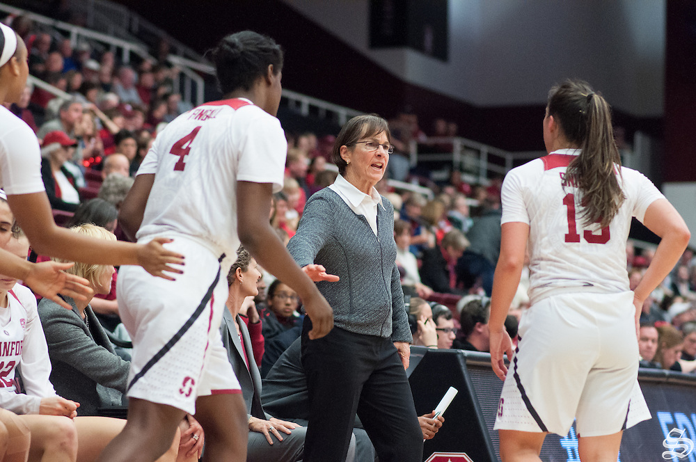 Coach Tara VanDerveer. Photo by Rahim Ullah