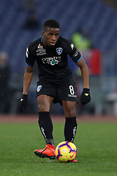February 7, 2019 - Rome, Italy - Ss Lazio v Empoli Fc - Serie A.Hamed Junior Traore of Empoli at Olimpico Stadium in Rome, Italy on February 7, 2019. (Credit Image: © Matteo Ciambelli/NurPhoto via ZUMA Press)