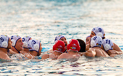 Players of Koper during water polo match between ASD Vaterpolo Rokava Koper and AVK Triglav Kranj in 3rd Round of Final of Slovenian Water polo National Championship, on June 8, 2011 in Zusterna pool, Koper, Slovenia. Rokava Koper defeated Triglav Kranj 12-6 and became Slovenian Champion 2011. (Photo By Vid Ponikvar / Sportida.com)