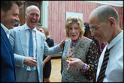 ROGER TATLEY; CHARLES SAUMERAZ SMITH; AGNES GUND; CRAIG STARR, Drinks party to launch this year's Frieze Masters.Hosted by Charles Saumarez Smith and Victoria Siddall<br />  Academicians' room - The Keepers House. Royal Academy. Piccadilly. London. 3 July 2014