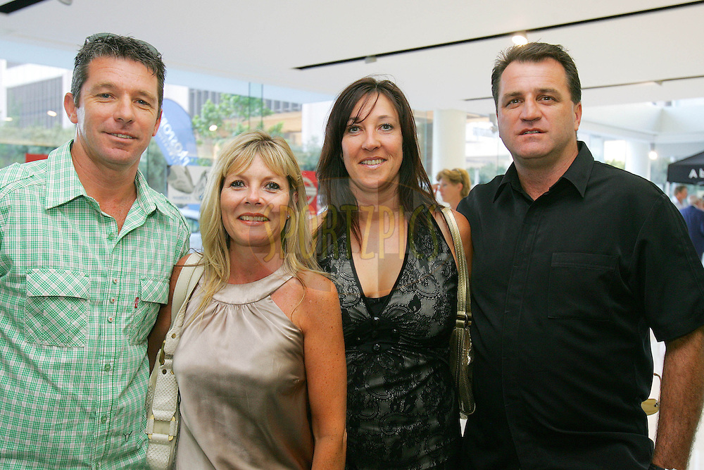 CAPE TOWN, South Africa.  12 January 2009. Craig & Anne Tretheway with Debbie and Sean Bailey during the Callaway Golf evening presented by Prosport International held at the Lexus Cape Town showrooms in Cape Town.photo by:  sportzpics.net