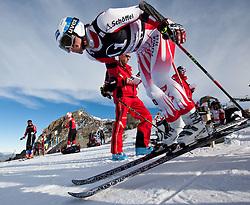 13.10.2010, Hintertuxer Gletscher, Tux, AUT, OeSV Alpin Herren, Riesentorlauf Qualifikationslaeufe, im Bild Florian Scheiber. EXPA Pictures © 2010, PhotoCredit: EXPA/ J. Groder